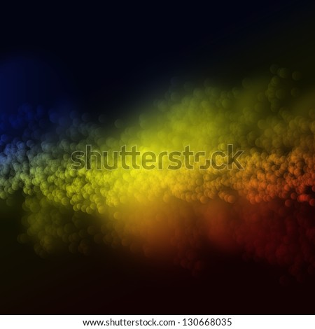 Abstract bubble background - stock photo