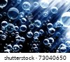 Abstract bubbles background - stock photo