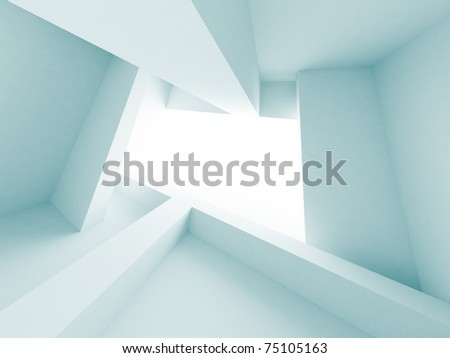 Abstract Building Construction - stock photo