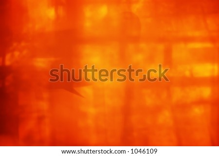 Abstract burning fiery background.