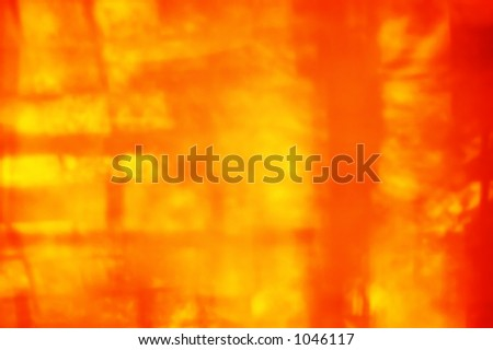 abstract burning fiery background. play of Light & shadow.