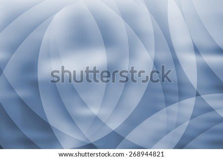 Abstract business background with curves - stock photo