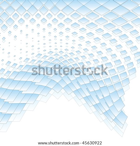 abstract business background with mosaic tiles, raster version