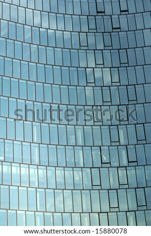 Abstract business building background