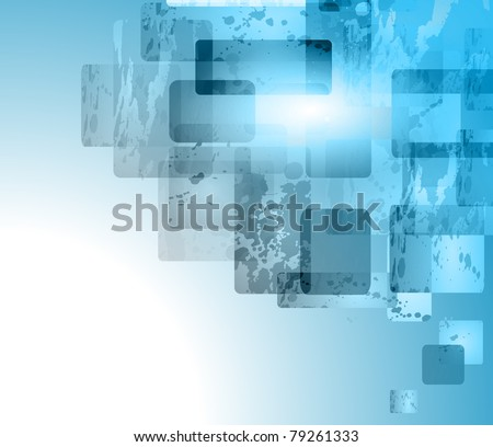 Abstract business or corporate card background for elegant flyers. - stock photo