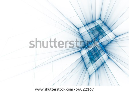 Abstract business science or technology background with empty space for text