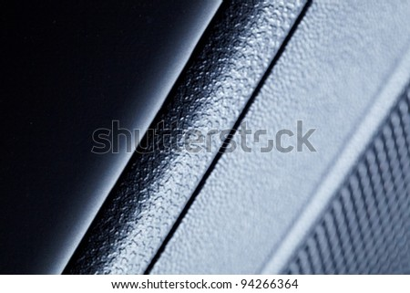 abstract car interiorbackground . macro shoot - stock photo