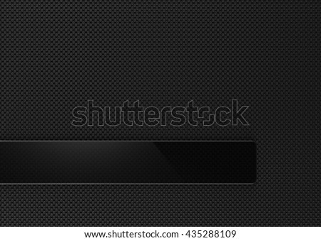 Abstract carbon fiber background with glass framework