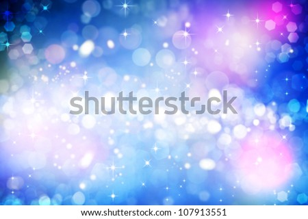 Abstract carnival backgrounds with beauty bokeh - stock photo