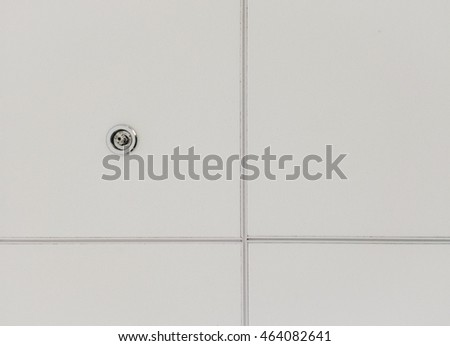 abstract Ceiling board with Fire sprinklers background