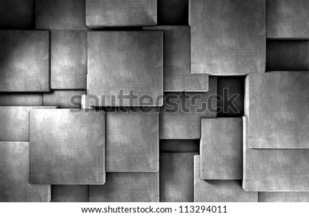 abstract cement background - stock photo