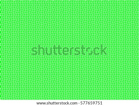 Abstract checked geometric pattern. Business Light Green background for use in web design. Diagonal wavy stripes of small squares. Digital repeating texture with curvature effect