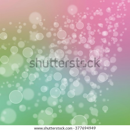 abstract cheerful pink and green background