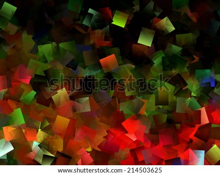 Abstract Christmas Background 5 - stock photo