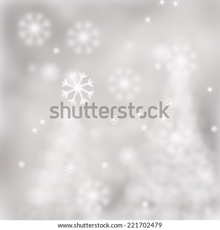 Abstract Christmas background. - stock photo