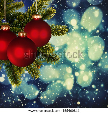 Abstract Christmas backgrounds for your design - stock photo