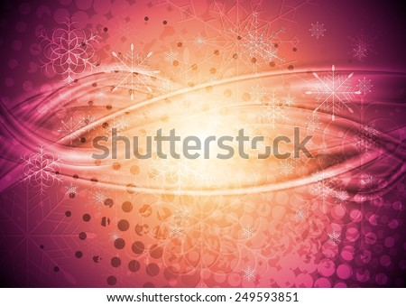 Abstract Christmas grunge background - stock photo