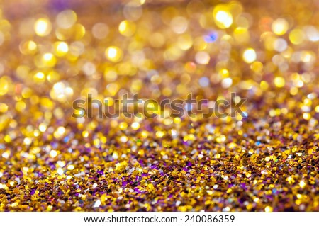 Abstract christmas lights as background.Bright lights garland - stock photo