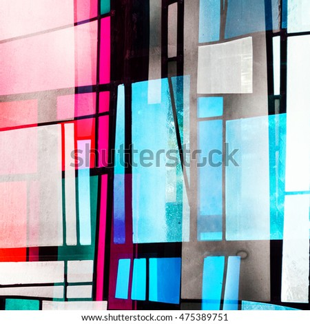Abstract Church Window