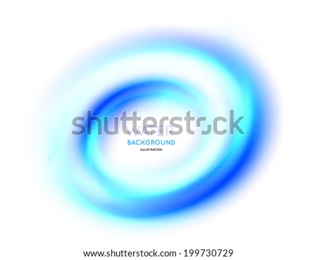 Abstract circle bright background  illustration on white - stock photo