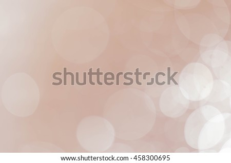 abstract circle brown bokeh background