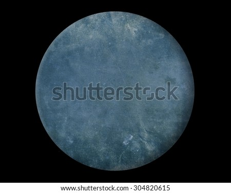 Abstract circle on black background - stock photo