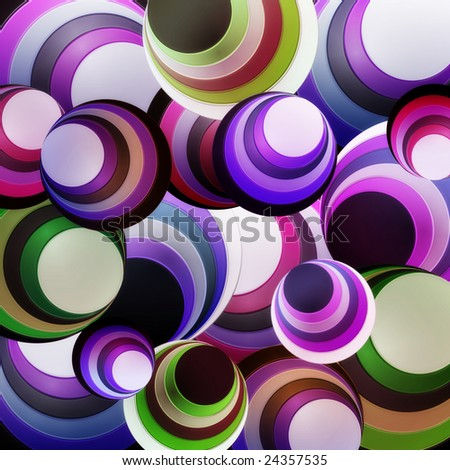abstract circle purple - stock photo