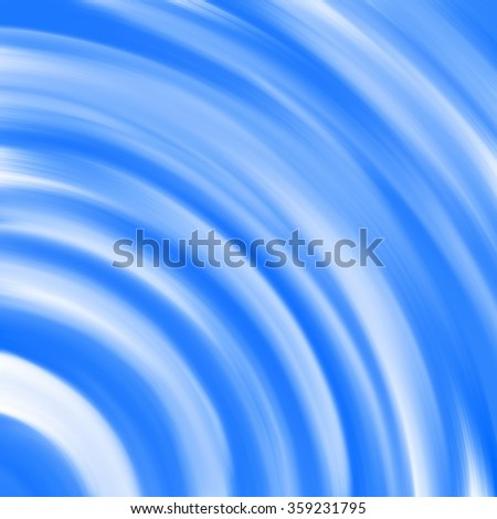 abstract circle smudge blue line background - stock photo