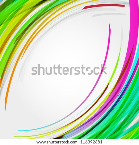 Abstract  circles lines  background  for your text. Raster version - vector version in my portfolio. - stock photo