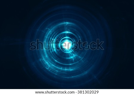 Abstract circular blurry background - stock photo