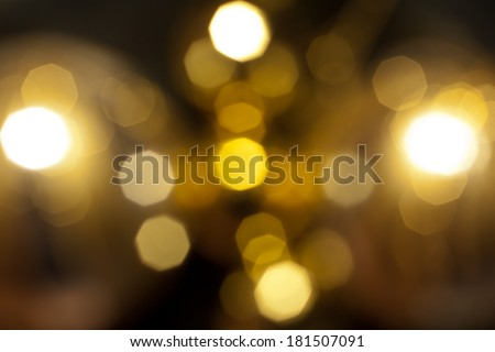 Abstract circular bokeh background - stock photo