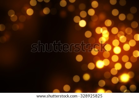 Abstract circular bokeh background of Christmaslight - stock photo