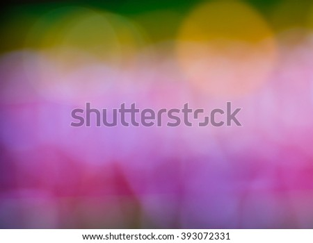 Abstract circular bokeh New Year Festive background of defocused decorated xmas tree bokeh composition - stock photo