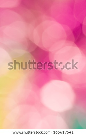 Abstract circular colorful bokeh from the party light - stock photo