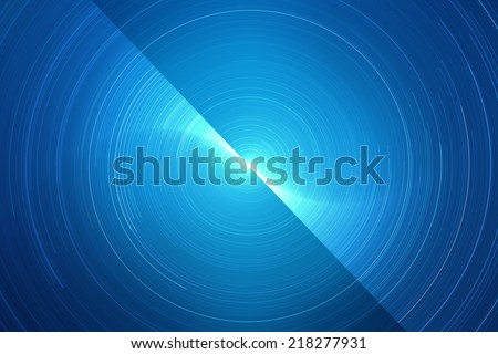 Abstract circular futuristic background - stock photo