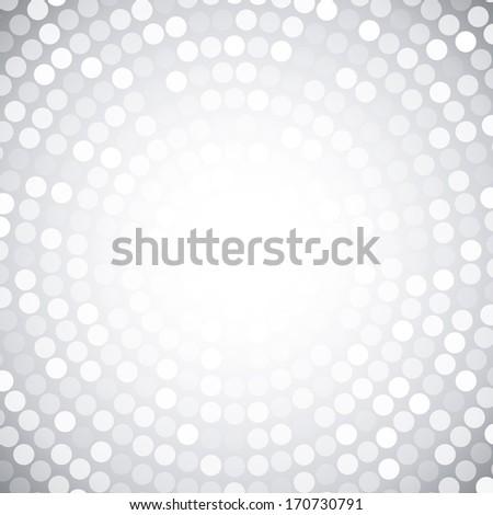 Abstract Circular Gray Background. Raster illustration  - stock photo