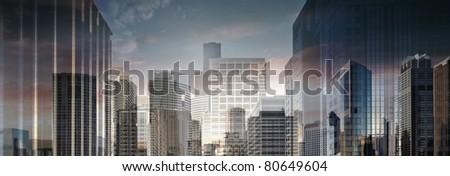 Abstract City 2 - stock photo