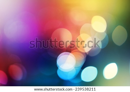 Abstract city lights blur blinking background. Soft focus. - stock photo