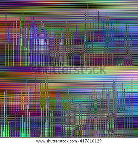 Abstract cityscape  - stock photo