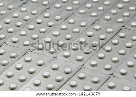 Abstract Close up of drug - stock photo