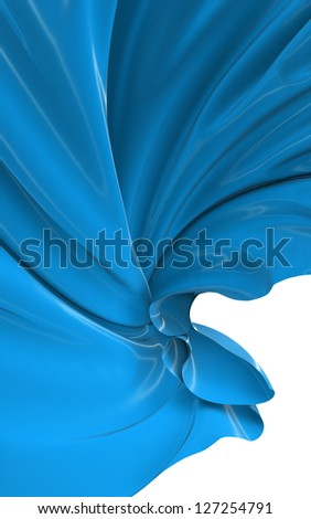 Abstract cloth - stock photo