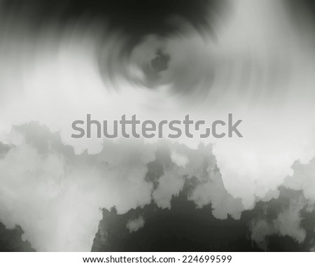 abstract cloud and smoke  background.Artistic abstraction composed of nebulous
