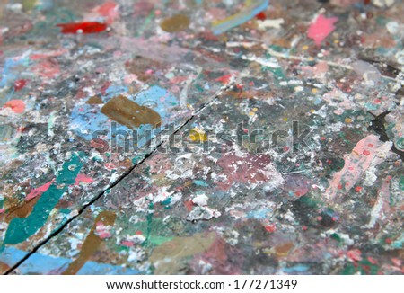 abstract color - stock photo