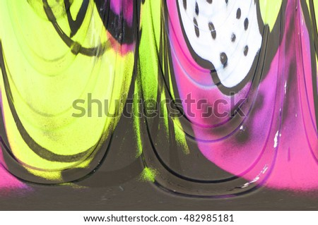 abstract color background design of various shades