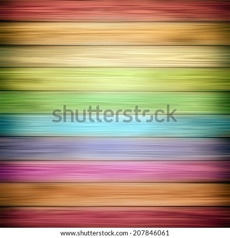 Abstract color illustration background of old natural wooden dark empty room with messy and grungy crack beech, oak tree floor texture inside retro light warm rural interior with bright wood planks. - stock photo