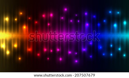 Abstract color lights background. - stock photo