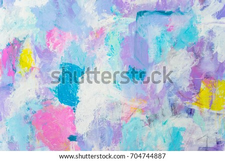 Abstract Color Paintings Background Texture Stock Illustration