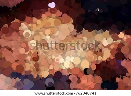 Abstract color pattern. Colorful circles. Colorful abstract composition. Surreal circles color pattern.