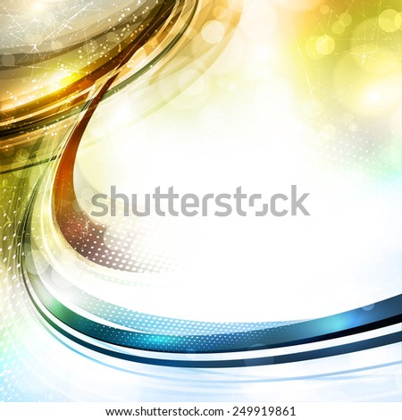 Abstract color pattern in retro style with shiny lines. Raster version - stock photo