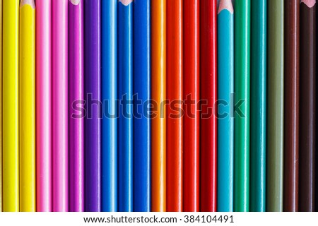 abstract color pencils pattern background